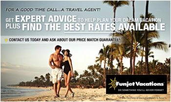 Ask Your Travel Agent about Price Matching BEFORE you book it!