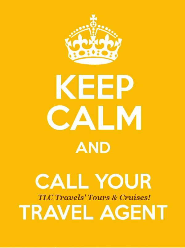 Keep Calm_Travel Agent