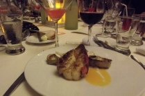 Is there really any reason why I wouldn't love my job! ;-) Our final night's meal at El Dorado Maroma!
