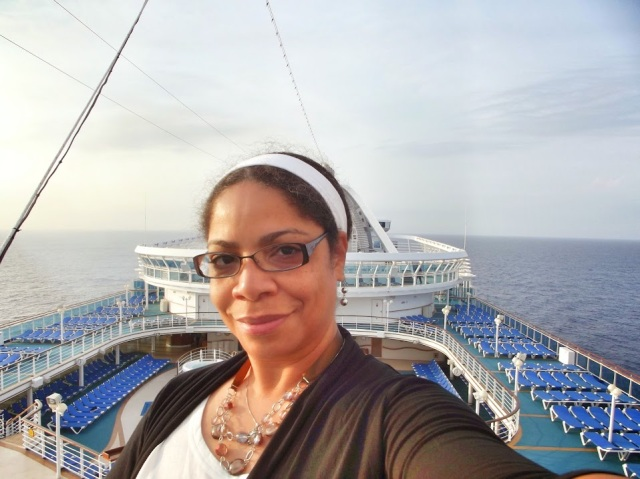 Just a #Coffee #Cruise Lover who enjoys early mornings at Sea! #PEACE #TLCTravels #TBT #CaribbeanPrincess