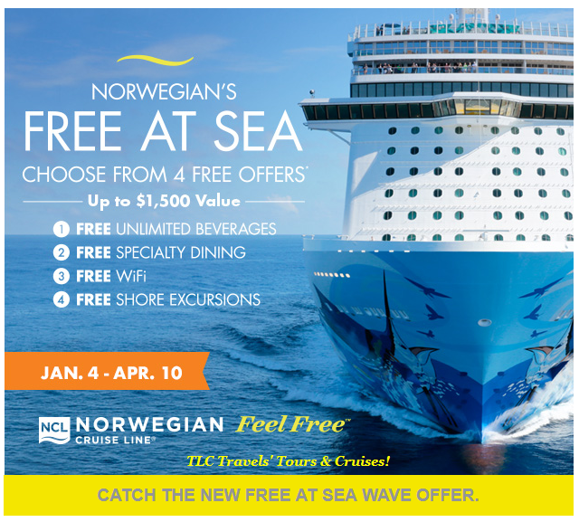 "Feel Free"" at Sea With Norwegian Cruise Line! 