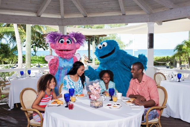 Sesame Street Character Dining