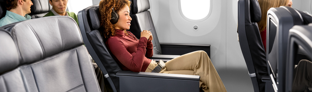 Premium Economy Seats on American Airlines