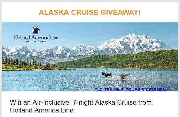 HAL_Alaska Cruise Giveaway