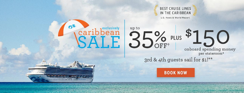 Remember, Princess Cruises' Caribbean Sale Ends Soon!