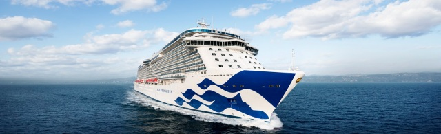 Majestic Princess at Sea Trials