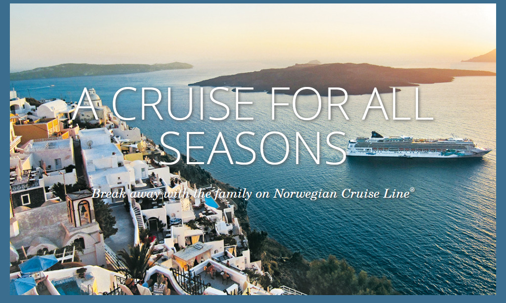 Norwegian's Free-at-Sea Offers Cruising Worldwide for all Seasons!