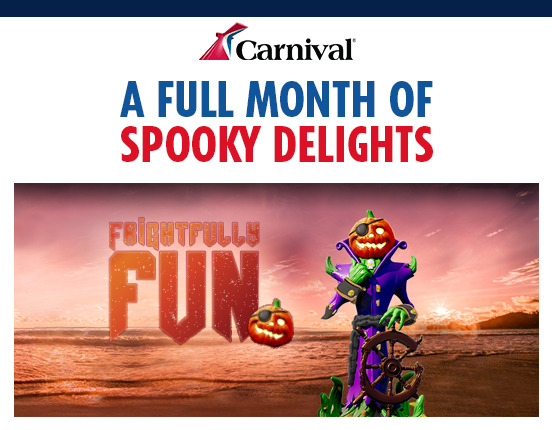 Carnival's Frightfully-Fun October Cruises!