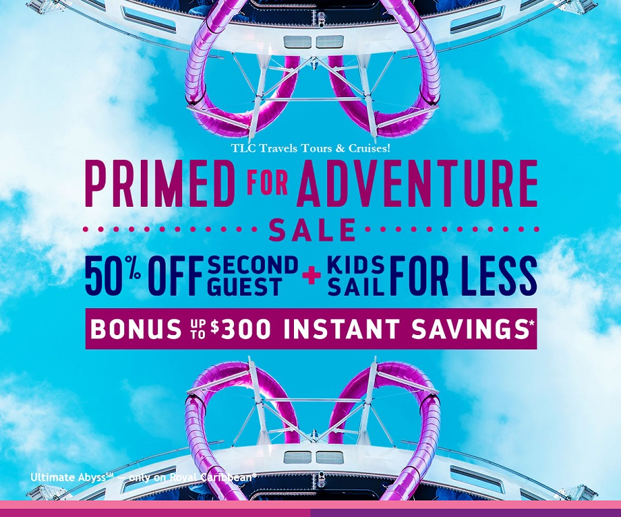 Primed for Adventure Royal Caribbean Cruise Sale!