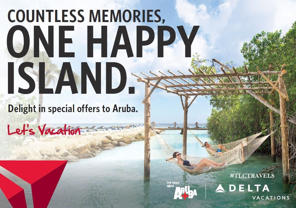 ARUBA + DELTA = UP TO 10K BONUS MILES & MORE!!