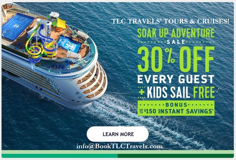 Soak Up Adventure on a Royal Caribbean Cruise!